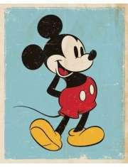 Myszka Mickey (Retro) - plakat