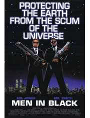 Men in Black Faceci w czerni - plakat