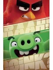 Angry Birds Raah! - plakat