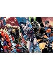 Justice League Liga Sprawiedliwych Bohaterowie - plakat