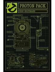 Ghostbusters 3 Pogromcy Duchów Proton Pack - plakat