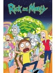 Rick and Morty - plakat