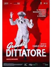 Charlie Chaplin Dyktator - plakat