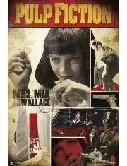 Pulp Fiction Mia Wallace - plakat
