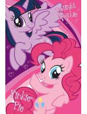 My Little Pony Twilight Sparkle  Pinkie Pie - plakat