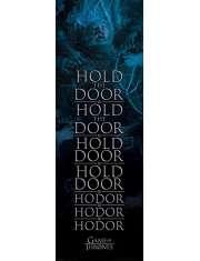 Gra o Tron Trzymaj drzwi Hodor - plakat