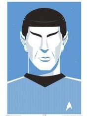 Star Trek Pop Spock 50ta rocznica - plakat