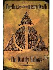 Harry Potter Deathly Hallows - plakat