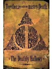 Harry Potter Deathly Hallows - plakat