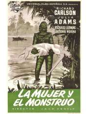 Potwór z Czarnej Laguny - plakat