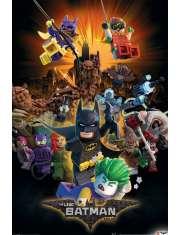 Lego Batman Wybuch - plakat