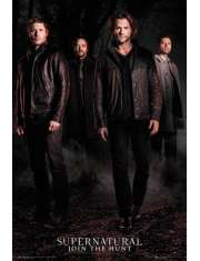 Supernatural Nie z Tego Świata Nowy Sezon - plakat