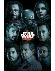 Star Wars Gwiezdne Wojny Łotr 1 - plakat