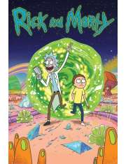 Rick and Morty Portal - plakat