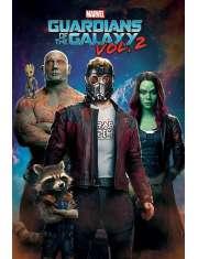 Strażnicy Galaktyki vol. 2 Kosmos - plakat