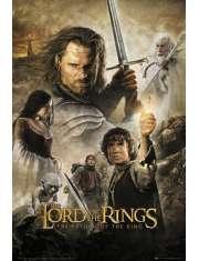 Władca Pierścieni Powrót Króla - plakat