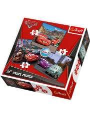 Trefl Puzzle 34105 Disney Auta 3w1-23335