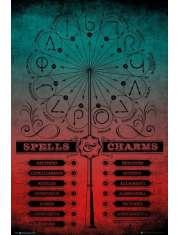 Harry Potter Czary i Zaklęcia - plakat