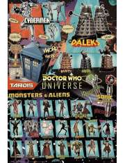 Doctor Who Bohaterowie - plakat