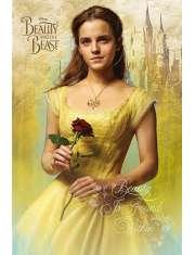 Piękna i Bestia Bella - plakat z filmu