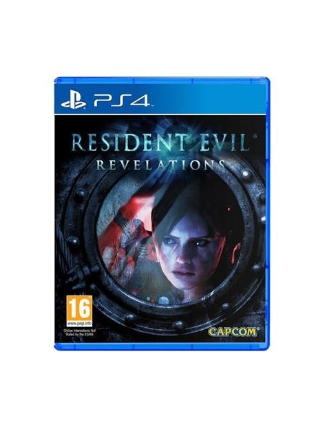 Resident Evil Revelations HD Remake PS4-24818