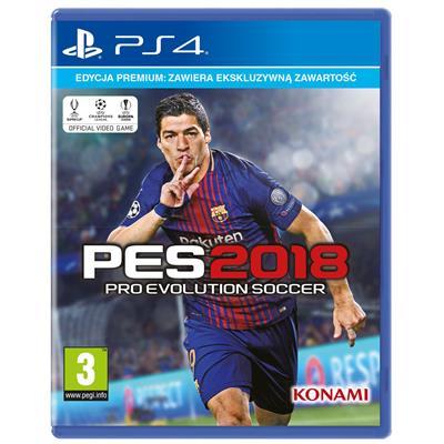 PES 2018 Premium Edition PS4-25670