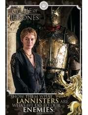 Gra o Tron Cersei Enemies - plakat z serialu