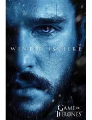 Gra o Tron Winter is Here Jon Snow - plakat