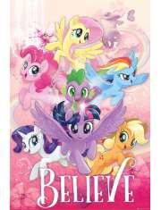 My Little Pony Movie Believe - plakat filmowy