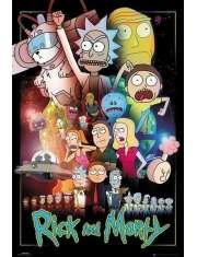 Rick and Morty Wars - plakat