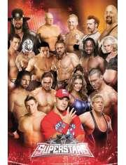 WWE Wrestling Superstars - plakat