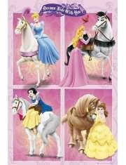 Disney Princess - Księżniczki na Koniu - plakat