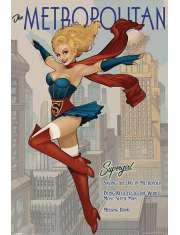 DC Supergirls - The Metropolitan - plakat
