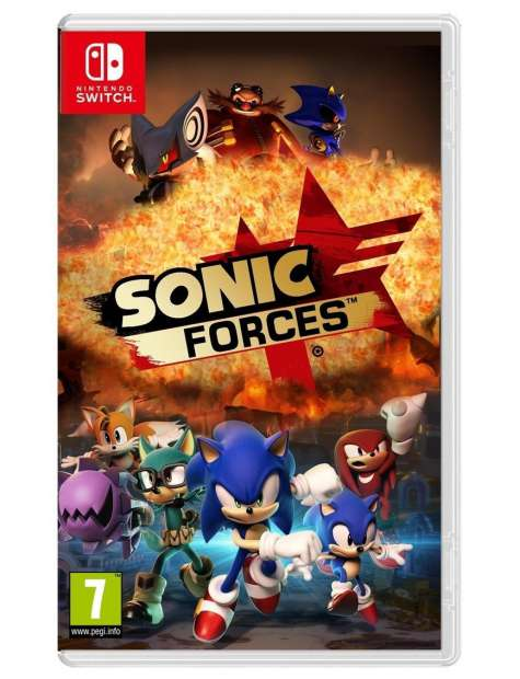 Sonic Forces Bonus Edition NDSW-27621