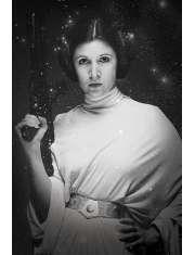 Gwiezdne Wojny Księżniczka Leia - plakat