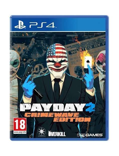 PayDay 2 Crimewave Edition PS4-5125