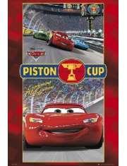 Disney Cars - Auta - Wyścig - plakat