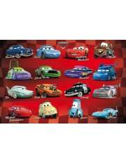 Disney Cars compilation Auta - plakat
