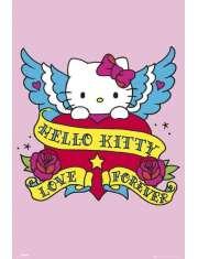 Hello Kitty Tatuaż - plakat