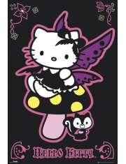 Hello Kitty Gothic - plakat
