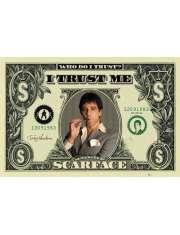Scarface Człowiek z Blizną - DOLLAR BILL - plakat