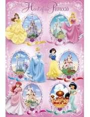 Disney Princess Księżniczki i ich Zamki - plakat