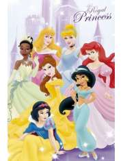 Disney Princess Księżniczki - plakat