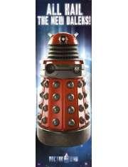Doctor Who Dalek - plakat