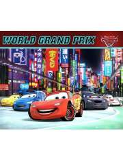 Cars 2 World GP - plakat