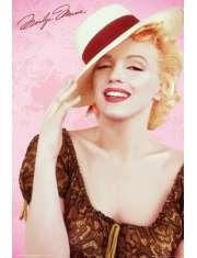 Marilyn Monroe - Kapelusz - plakat