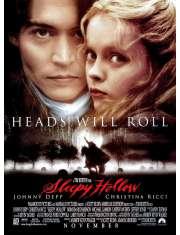 Jeździec Bez Głowy - Johnny Depp - plakat
