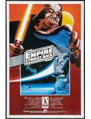 Star Wars Gwiezdne Wojny Imperium Kontratakuje - plakat