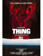 Coś The Thing - plakat