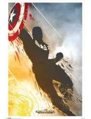 Kapitan Ameryka Zimowy Żołnierz - plakat